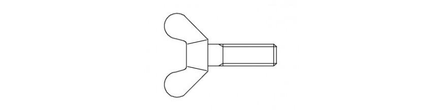 VLEUGELSCHROEF 4,6 DIN 316 M 4X 12