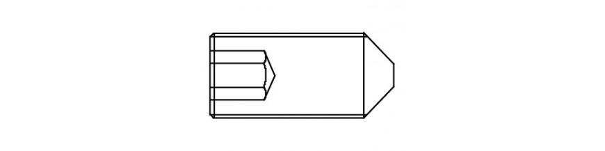 STELSCHROEF 14,9 DIN 914 M 3X  4
