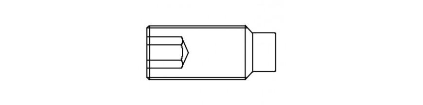 STELSCHROEF 14,9 DIN 915 M 3X  4