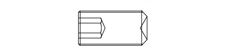 STELSCHROEF 12,9 DIN 916 M 8X 60
