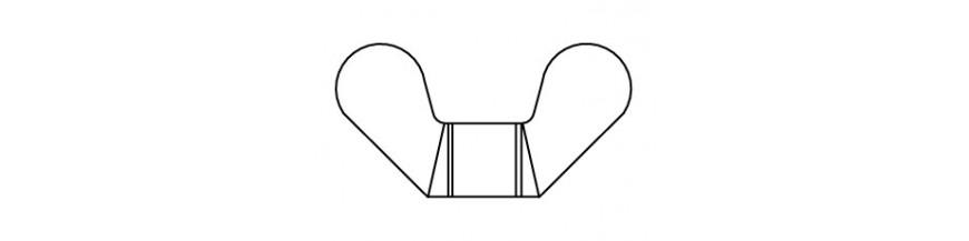 VLEUGELMOER DIN 315  M 8 POLYAMIDE 6.6